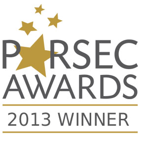 2013 Parsec Awards Winner logo