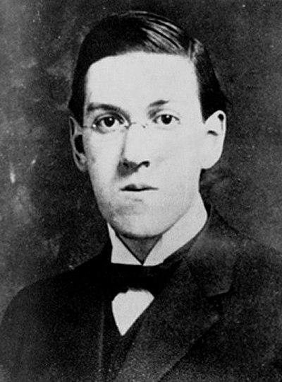 H.P. Lovecraft author photo