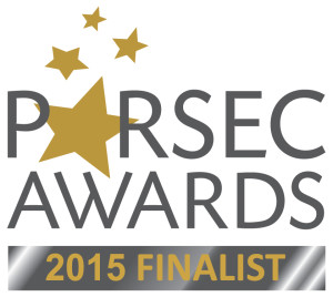 2014 Parsec Awards Finalist logo